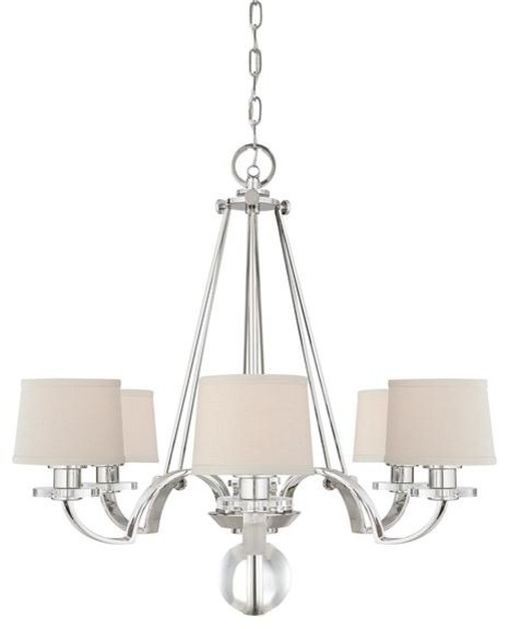 Quoizel Lighting UPSP5006IS 6 Light Chandelier Uptown Sutton Place Collection chandeliers