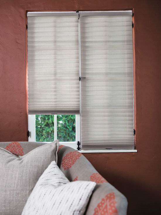 Smith & Noble Optipleat™ Cordless Semi Sheer Linen Shades - Tailored pleats never go out of style, which is why designers return again and again to our Classic Pleated Shades and OptiPleat Shades. Their crisp, accordion-style folds add movement and structure to windows. Handcrafted in the USA. Pleated Shades are shipped in 5 business days. Starting at $78