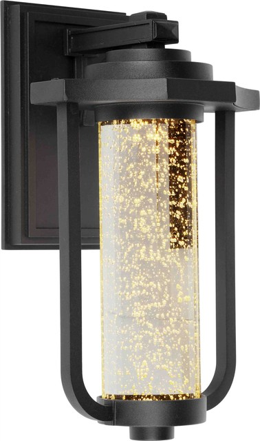 Artcraft Lighting AC9012BK North Star Modern / Contemporary Outdoor Wall Sconce contemporary-outdoor-wall-lights-and-sconces