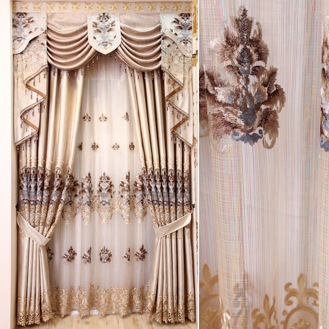 Customized Curtains in White Color asian-curtains