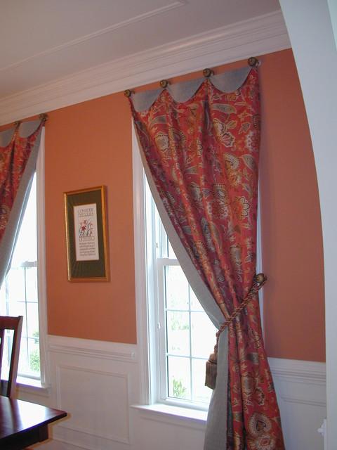 Drapery panels window-treatments