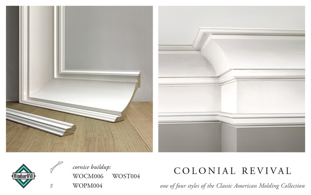 Windsorone Colonial Revival Crown Molding Traditional