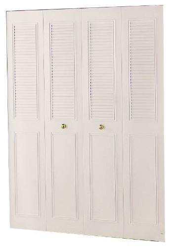 36 x 80 4-Panel Classic Metal Bifold asian-interior-doors