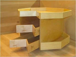 Glide Around Lazy Susan Shelves And Drawers In Your