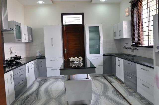 Panchkula India  City new picture : Island Kitchen panchkula india Kitchen Cabinetry other metro by ...