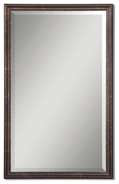 uttermost renzo vanity mirror transitional bathroom mirrors by