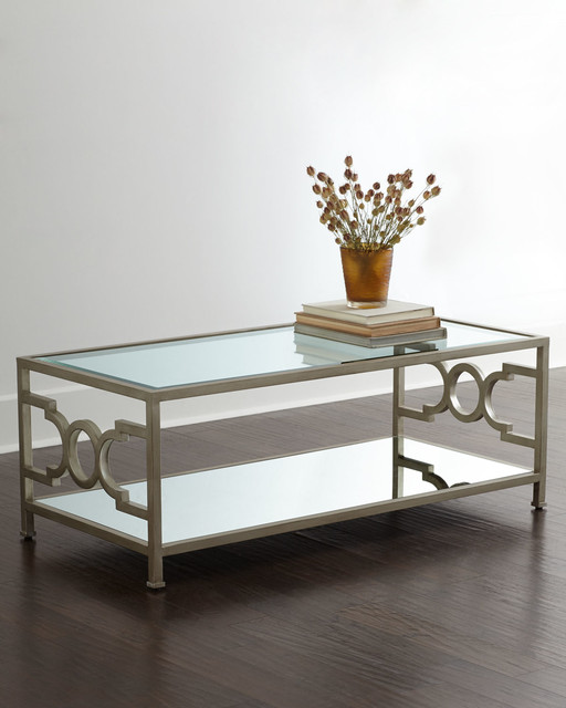 Mirror Coffee Table : Mirrored Coffee Table by Candice Olson - Traditional - Coffee Tables ...