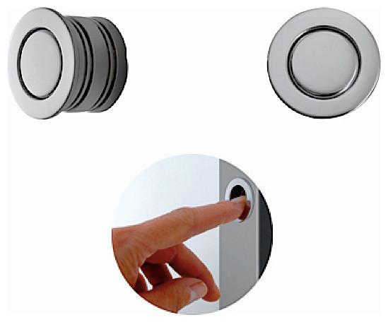 Magnetic Edge Pull 594-30 - Modern - Pocket Door Hardware - new york - by AFFurniture & Door ...