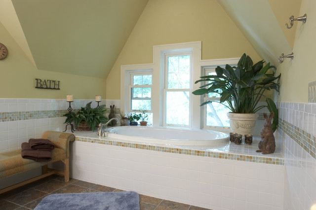 traditional bathroom by M.J. Whelan Construction