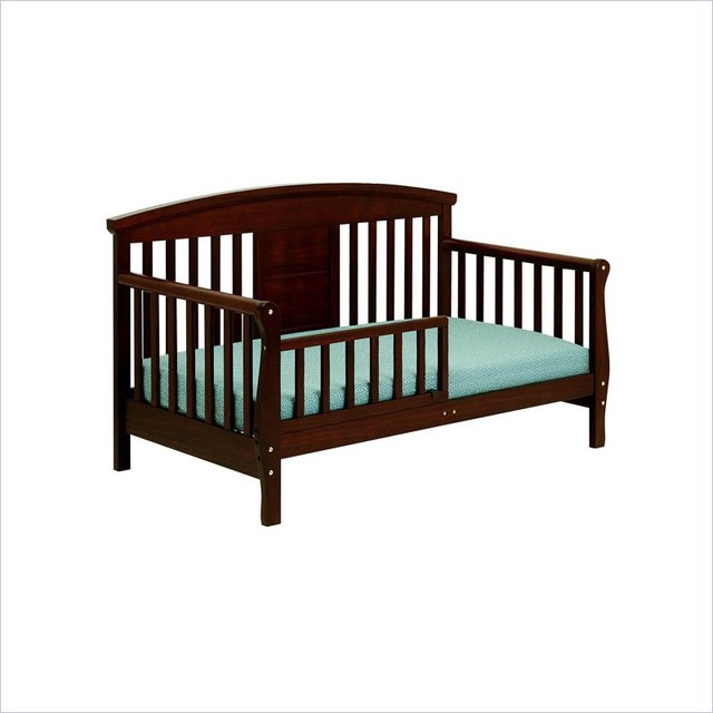 DaVinci Elizabeth II Convertible Wood Toddler Bed In
