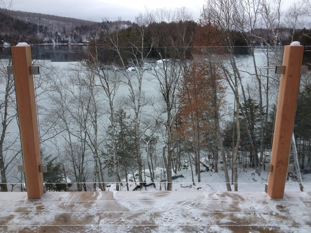 Garde-corps - Mont-Tremblant - Modern - montreal - by Vitrévolution ...