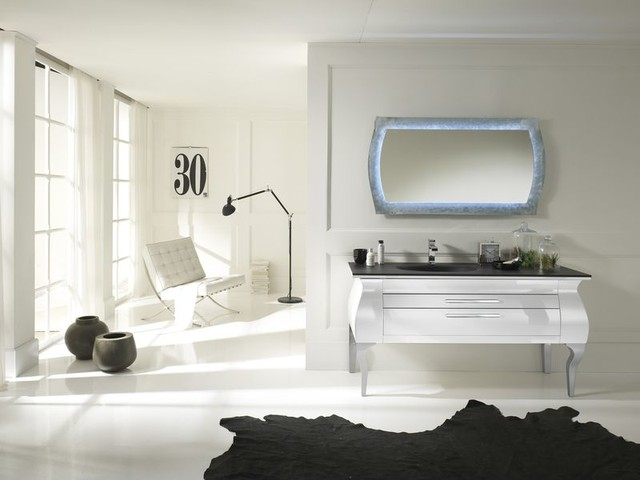 Italian Bathroom Vanities NEA Italia Model Giulia Modern