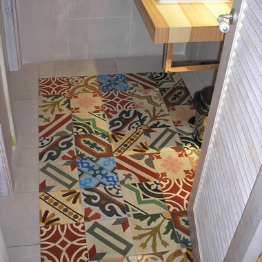 VERY NICE PATCHWORK FLOORS, OLD SPANISH STYLE TILES - luxurystyle.es traditional
