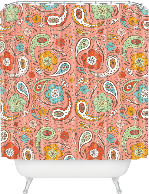 DENY Designs Heather Dutton Adora Paisley Shower Curtain
