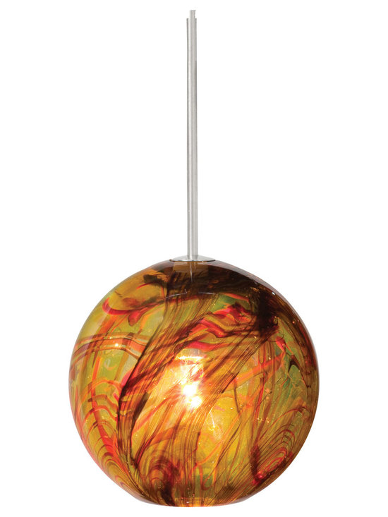 FJ Paperweight Pendant by LBL Lighting