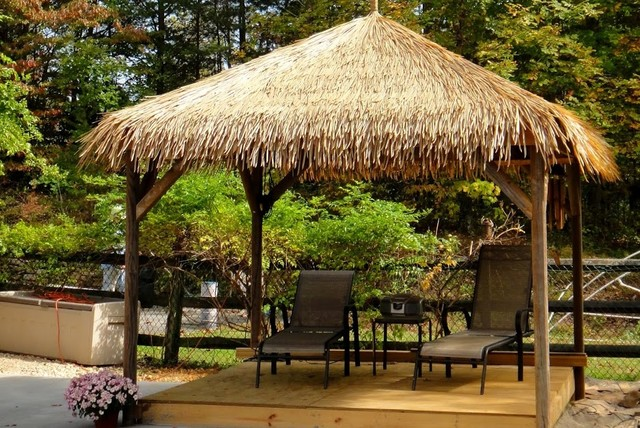 Synthetic Thatch Gazebos Miami By Amazulu Inc