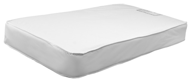 Emily Hypoallergenic Universal Fit Two-Sided Waterproof 260-Coil Crib Mattress w traditional-diaper-pails-and-stackers