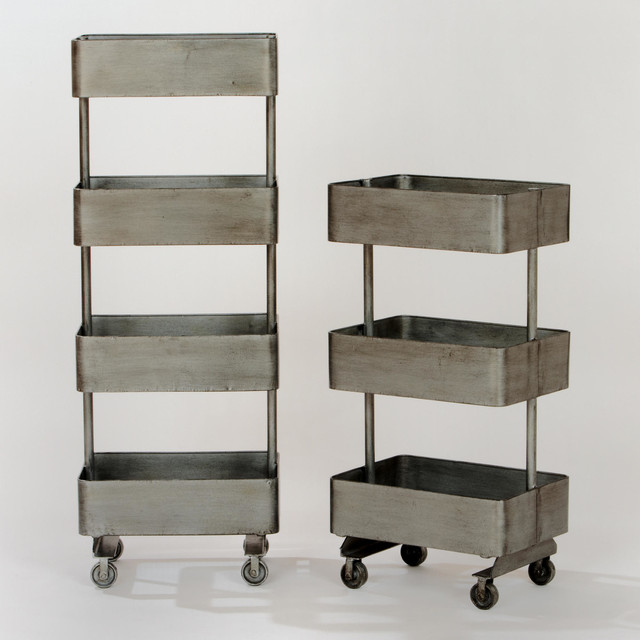 Jayden Metal Shelf Units contemporary-storage-and-organization