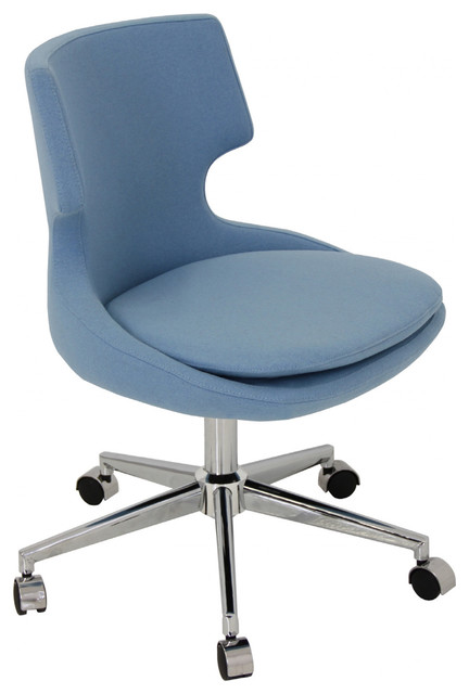 Patara office chair modern office chairs new york for Contemporary home office chairs