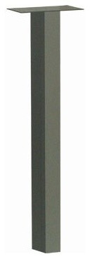 Architectural Mailboxes 46.5 in. Standard In-ground Post modern-mailboxes
