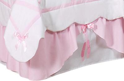Ballerina Bed Skirt contemporary-bedskirts