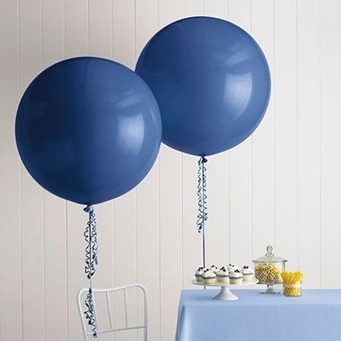 Marthacelebrations Giant Round Balloons Indigo
