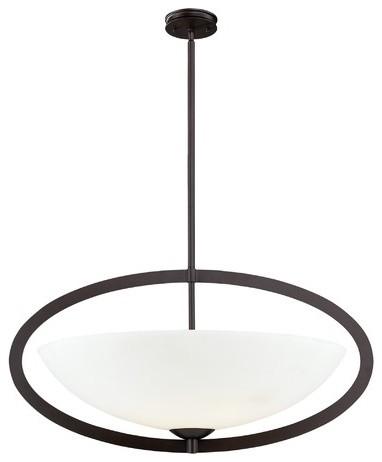 Vuelta 6 Light Pendant modern-pendant-lighting