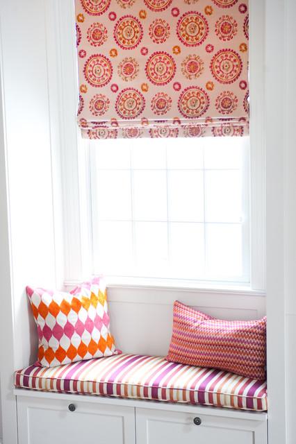 Window Treatments contemporary-roman-shades