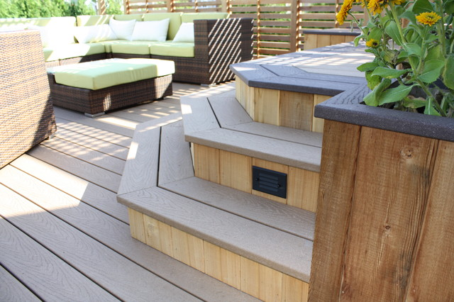Patio Deck-Art Design® traditional-deck