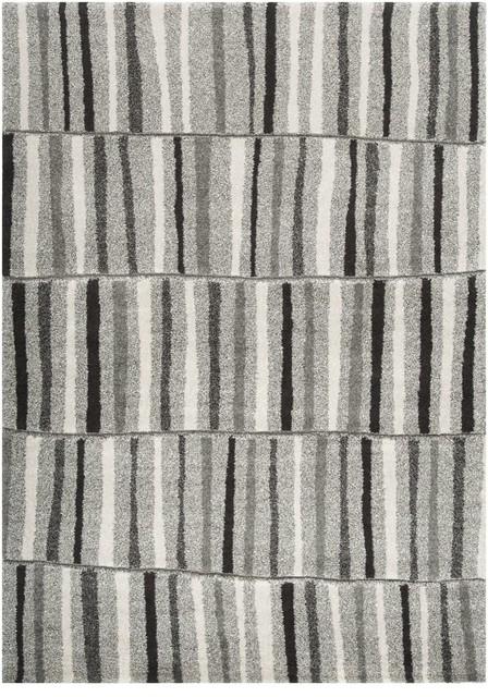 """Contemporary Sofia 7'10""""x11'1"""" Rectangle Gray-Dark Gray  Area Rug contemporary-rugs"""