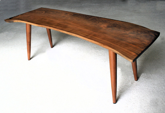 Mid Century Modern Oval Coffee Table