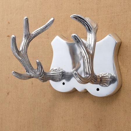 Antler Hook Eclectic Wall Hooks