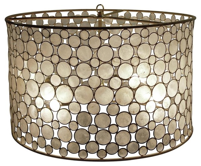 Oly Studio Serena Drum Pendant eclectic-pendant-lighting
