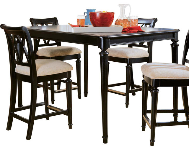 American Drew Camden Dark Gathering Table Contemporary