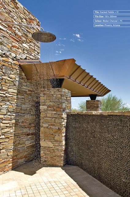 Pebbles,Stones, Topical floor-tiles