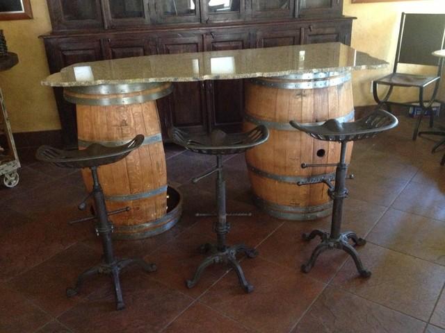 Suisun Valley Ca Wine Barrel Furniture Contemporary