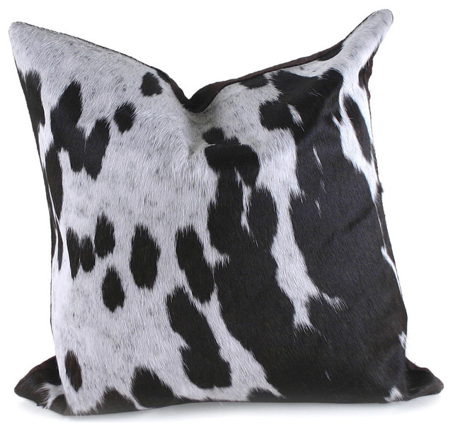 Spotted Cowhide Pillow eclectic-decorative-pillows