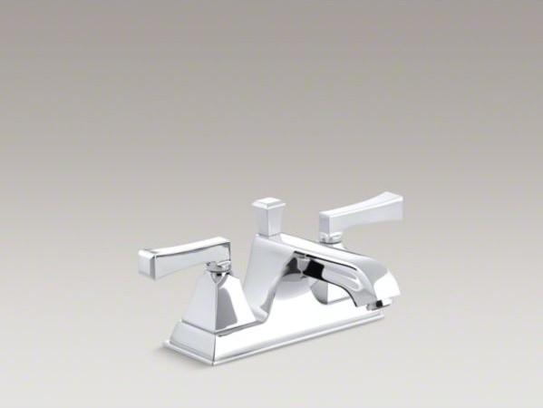 KOHLER Memoirs(R) centerset bathroom sink faucet with deco lever handles contemporary-bathroom-sinks