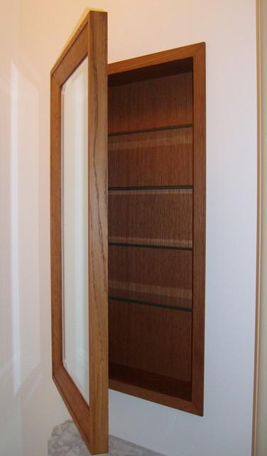 Oak Medicine Cabinet - Traditional - Medicine Cabinets - philadelphia ...
