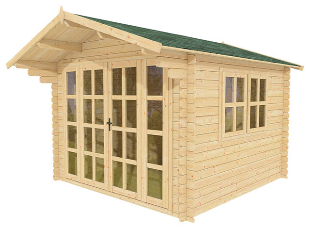 Joy 10 x 10 Wood Shed / Guest Cottage - tropical - sheds - other