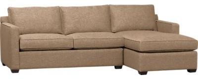 Davis 2-Piece Sectional Sofa contemporary-sectional-sofas