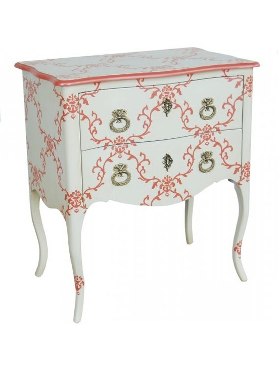 Chichi Furniture Exclusives. - Complete your room style with this beautiful French 'Seigneur' bedside table.
