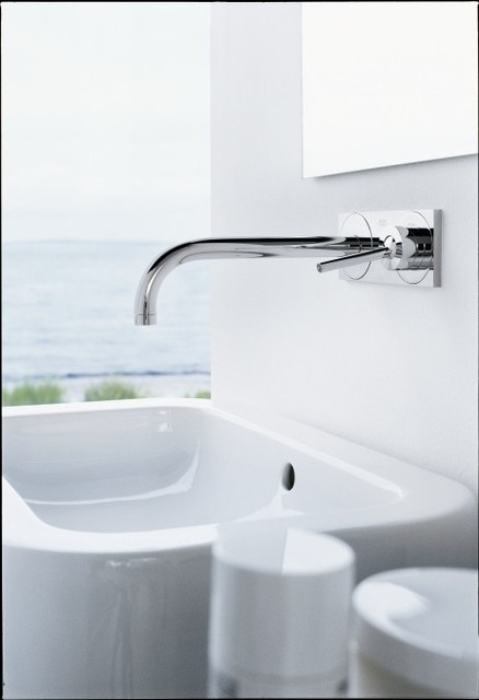 hansgrohe axor uno wall mounted single handle faucet trim. Black Bedroom Furniture Sets. Home Design Ideas