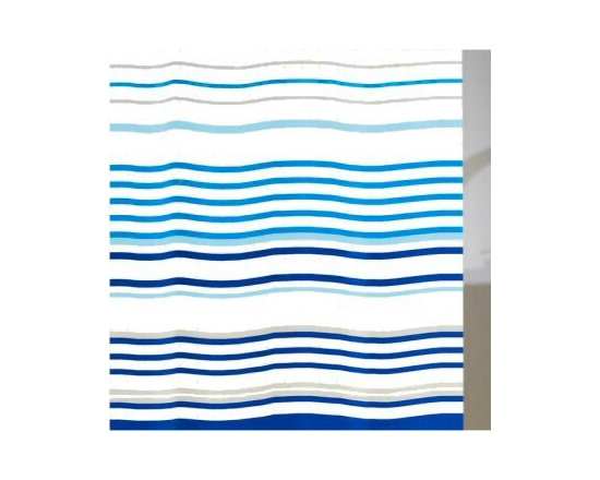 Layla Shower Curtain - Much like shower curtains you'll find in many finer hotels and spas, This fabric shower curtain is lightweight and quick dry and requires no liner.