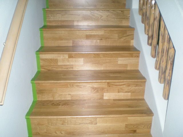 konecto lvt stairs traditional vinyl flooring albuquerque by floorscapes. Black Bedroom Furniture Sets. Home Design Ideas