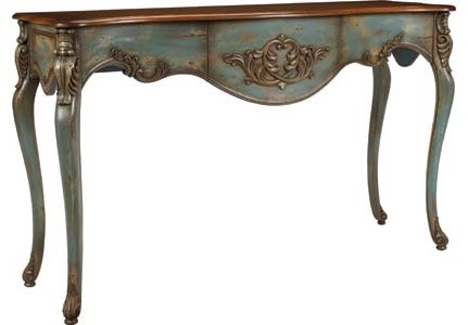 Carved Console traditional-side-tables-and-end-tables