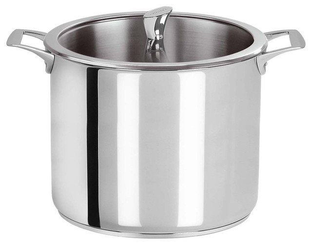 Cristel Casteline Stainless Steel 7.6-quart Stock Pot contemporary-stockpots