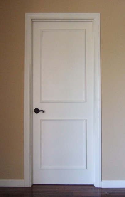 Two Panel Raised Door Moulding Kit - Traditional - Interior Doors - los angeles - by Luxe ...