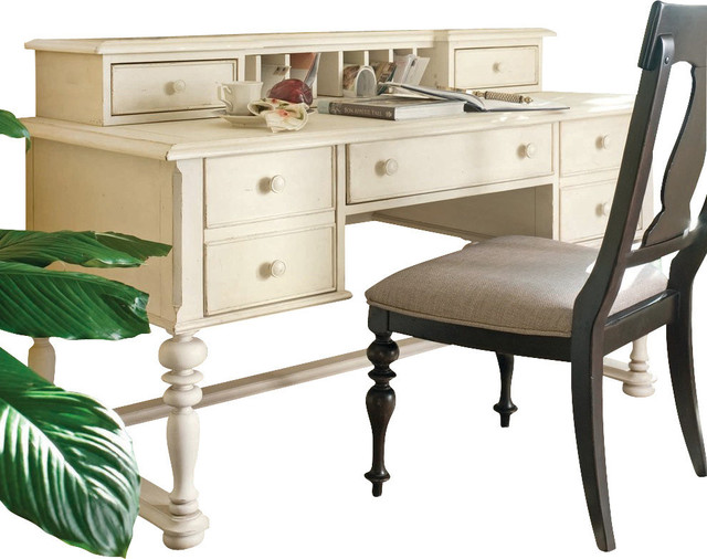 Paula Deen Home Letter Writing Desk in Linen - Desks And Hutches - by Bedroom Furniture Discounts