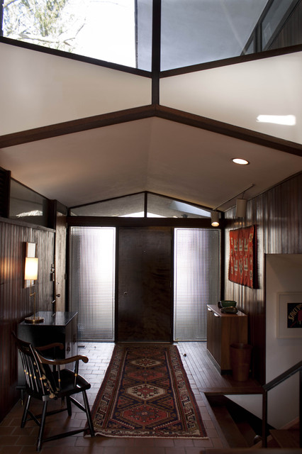 Foyer In Our 1958 Irwin Stein Mid Century Modern Home